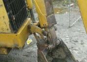 Excelente retro excavadora cat 420e año 2008