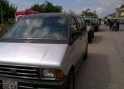 Mini vans año 1987 inigualable ocasión