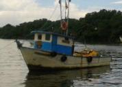Se vende barco de pesca,contactarse!