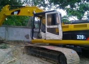 Excavadora 320l cat,buen estado!