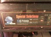 Generador eléctrico para 7000 w en excelente estado