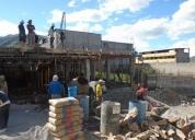 Oportunidad! construcciones de casas y terminados