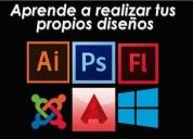 Excelente cursos prácticos de diseño gráfico  guayaquil