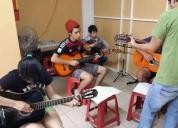 Excelente curso de guitarra, piano, batería o violín