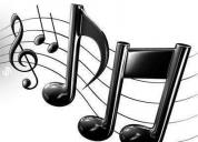 Excelente clases de musica a domicilio