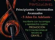 Oportunidad! talleres y clases de violín