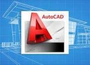 Excelente clases de autocad personalizadas 2d / 3d