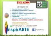 Servicios educativos, tecnológicos y culturales, scp