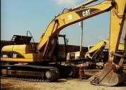 excavadora caterpillar 320 cl año 2005 en venta