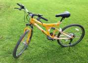 Bicicleta adulto amarilla