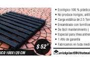 Pallet ecolÓgico 100x120 cm
