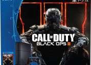 Playstation 4 sp4 black ops iii 500gb - nuevos - aceptamos tarjeta de crÉdito