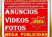40 usd, publicistas, mega publicidad, clasificados, videos. guayaquil, quito, cuenca, santo domingo