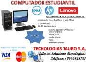 Computadores, tablet, impresoras regalo