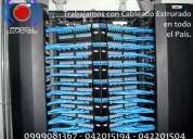 Cableado estructurado, redes, datacenter, fibra Óptica, proyectos ti