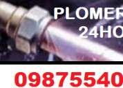 Plomeros pvc cobre 0987554025