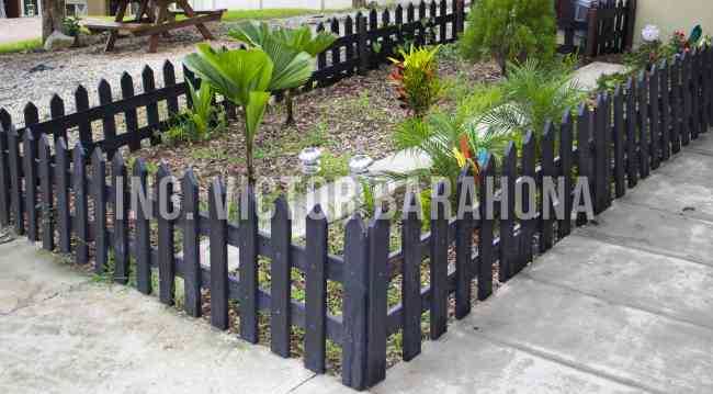 Cercas para jardin de aluminio de acero de metal de - Cercas para jardin ...