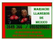 Mariachis al sur de quito