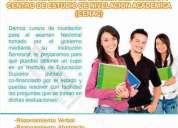 Curso de nivelación para el examen del senesycti