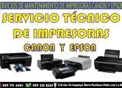 Servicio técnico de impresoras canon y epson en barrio rumiloma