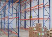Venta de estructuras metalicas como racks, estanterias, lockers