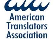 Traducciones urgentes!!! inglÉs-espaÑol certificadas y notariadas