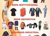 Ropa de trabajo ejecutiva-deportiva-institucional