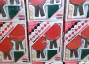 Juegos de ping pong completos en set incluye pelotas, raquetas, red