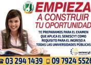 Curso preuniversitario en riobamba preparate para el examen enes de admisión del senescyt 097924552