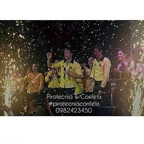 Juegos Pirotecnicos y Maquinas de Confetis para Conciertos, Bodas, Fiestas Privadas