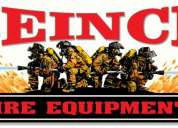 Venta, recarga de extintores y sistemas contra incendio