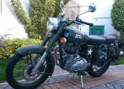 Moto royal enfield 500cc verde miliatar 2015