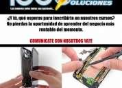 Curso profesional de reparación de celulares smartphones y tablets para todas las marcas