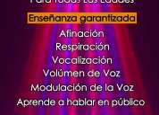 Curso de canto - afinación - vocalización