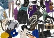 Compro ropa usada, zapatos, carteras, juguetes, sabanas, manteles, cortinas, etc