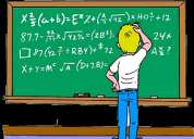 Clases de estadística calculo diferencial e integral , algebra lineal