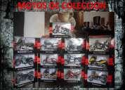 Coleccion de motos (13 unidades en su caja perfecto estado)
