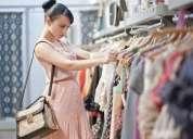 Oportunidad de trabajo en venta de ropa