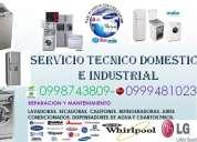 Lumbici 0987063299repara tu lavadora calefones secadoras refrigeradoras cumbaya tanda sangolqui.-