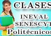 Senescyt, cursos de nivelacion, preparate con tiempo. saca mas de 900 puntos
