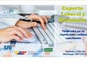 Experto laboral y tributario taller práctico