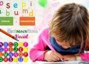 Nivelación de lectura y escritura para niños a domicilio