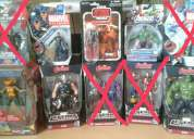 Vendo figuraa de accion marvel legends dc universe star warse