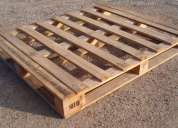 Pallets industriales en madera tipo americano y europeo
