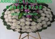 Flores para funeral, arreglos funerarios, coronas , mantos