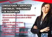Servicio y asesoramiento en contabilidad y tribulaciÓn.
