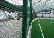 Mallas para contenciÓn de balones para espacios abiertos deportivos