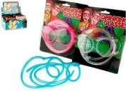 Gafas color neón para bebidas drinking glasses fiesta