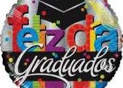 Globos para su fiesta de graduacion
