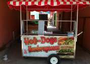 Vendo carreta para venta de hotdog, papas bien barato t.0992414080